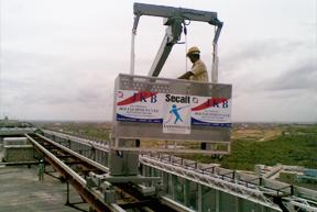 Floor Mounted Building Maintenance Unit